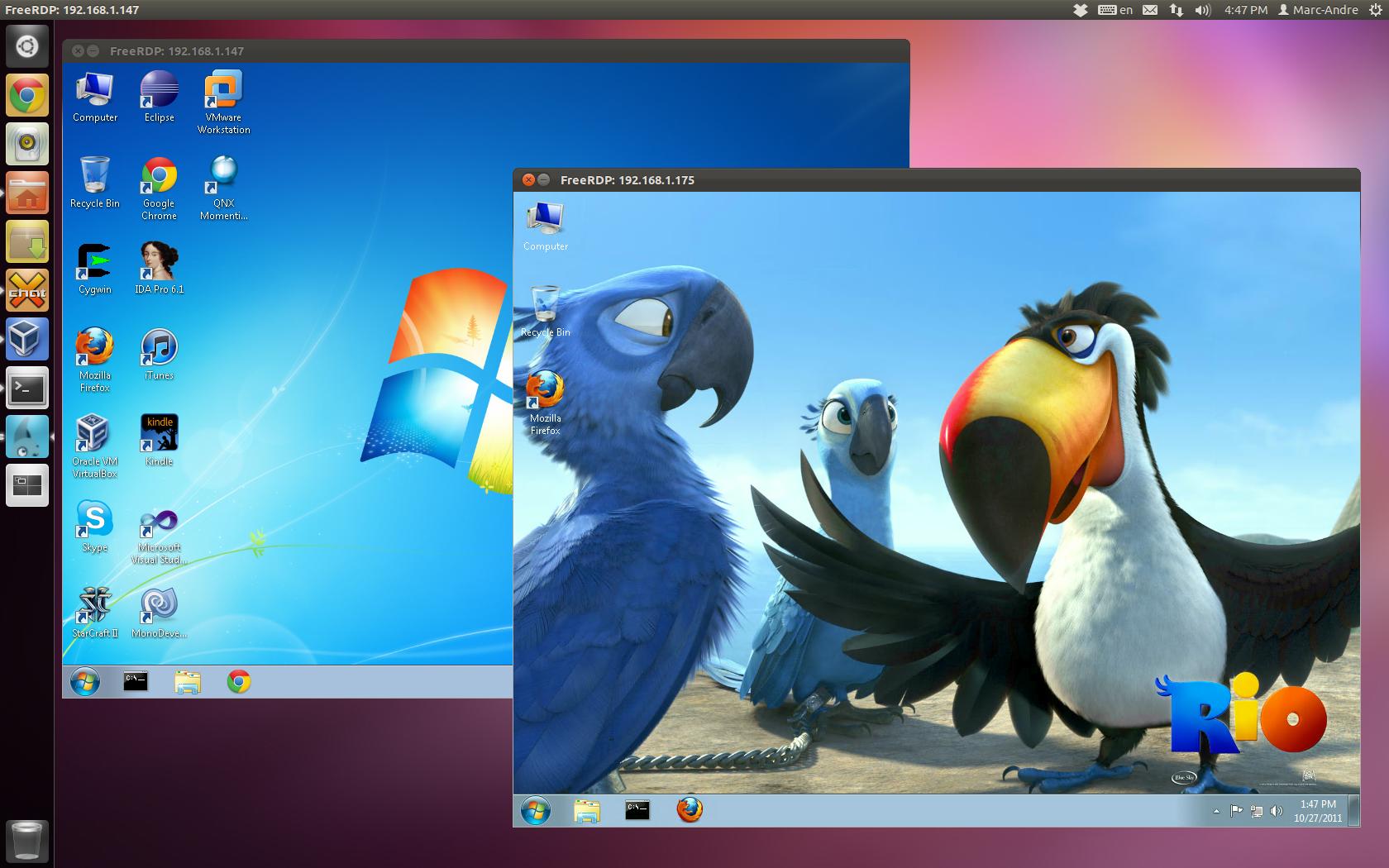Rdesktop Windows  Home